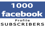 1000 Facebook Profile Followers (Subscribers)