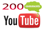 200 YouTube Video Comments
