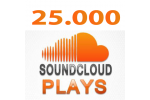 25.000 SoundCloud Plays