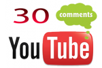 30 YouTube Video Comments