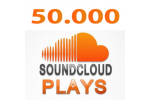 50.000 SoundCloud Plays