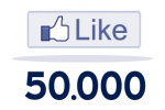 50.000 Facebook Likes For Website / Blog