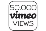 50.000 Vimeo Views