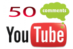 50 YouTube Video Comments