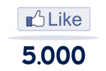 5000 Facebook Likes For Website / Blog