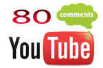 80 YouTube Video Comments